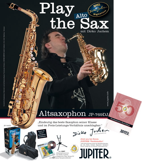 Play the Sax mit Dirko Juchem